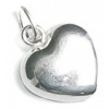 SS.925 Heart Charm with Jumpring 10x11mm